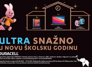 Duracell zec, Apple MacBook Air, iPad 8 i Cordys Smart Kids Watch