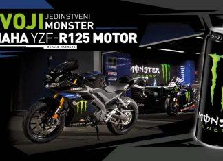 Nagrada Motor Yamaha u konkursu Monster Energy